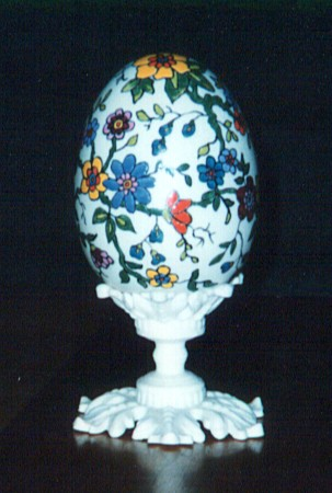 Egg Painted by Virginia 'Ginny' Barton