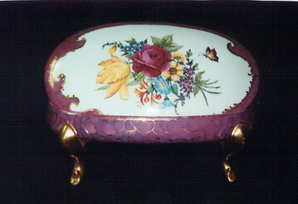 Hand Painted Box by Katie Jackson
