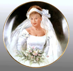 Bride Portrait by Nancy Scoble
