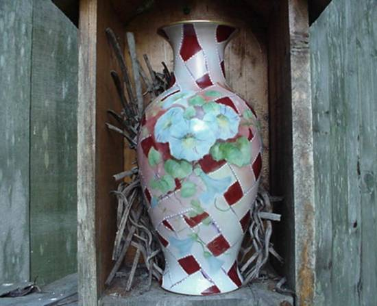 Vase Painted by Zula Lyon
